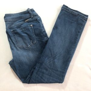 8 Curvy Fit Straight Leg Stretchy Inc Blue Jeans